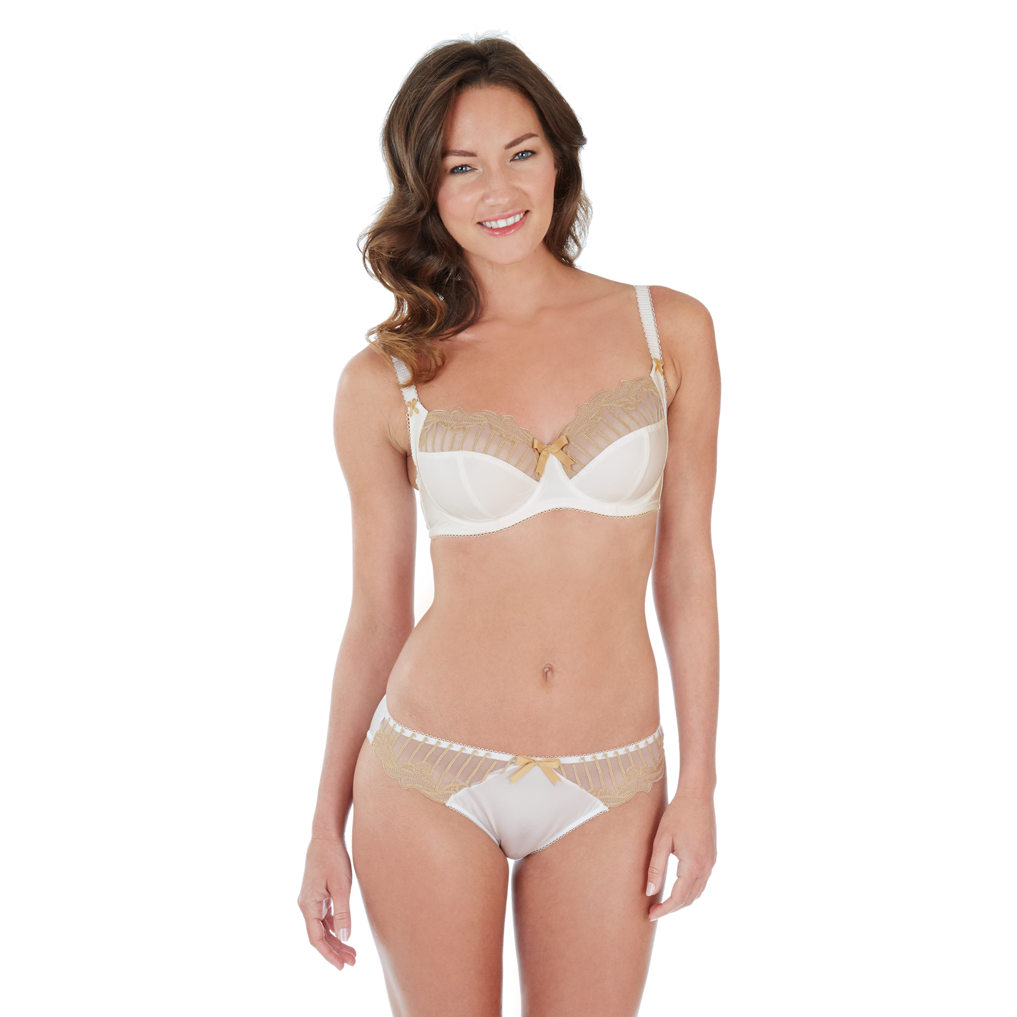 Charnos Sienna Ivory Full Cup Bra Eve Lingerie