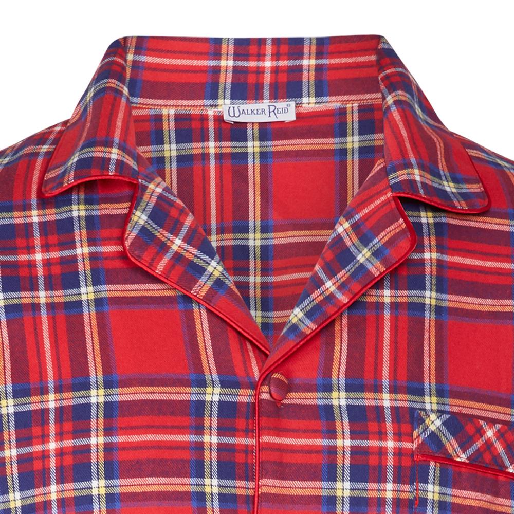Walker Reid Unisex Flannel Nightshirt - Eve Lingerie d210f6870