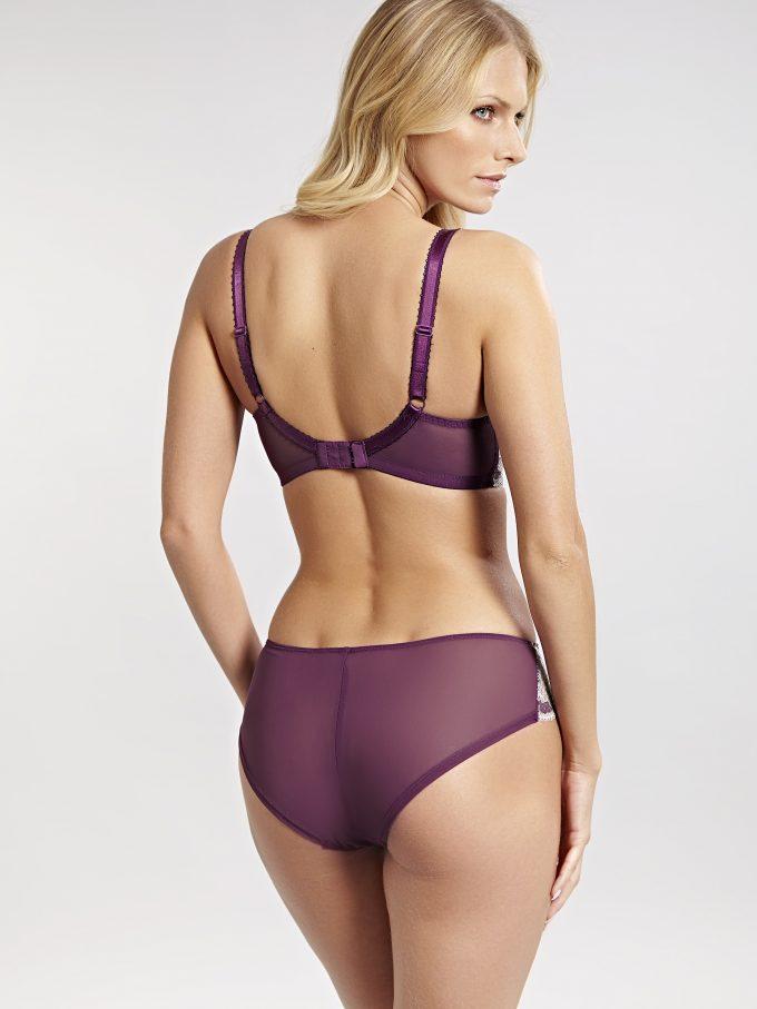 70ce6d4b2 Panache Clara Purple Briefs - Eve Lingerie